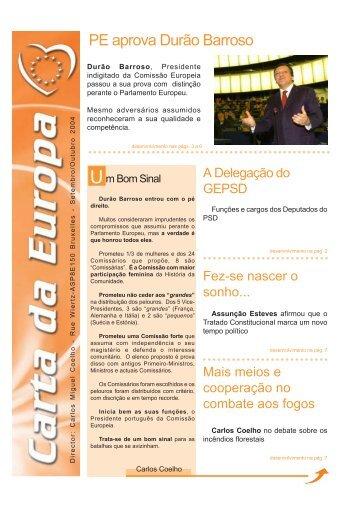 Setembro/Outubro - Carlos Coelho