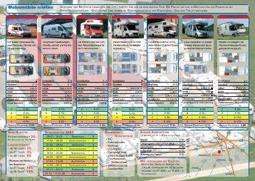 Wohnmobile Mietpreisliste (PDF) - Donkeymedia