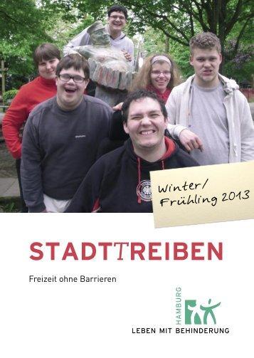 STADTTREIBEN - Leben mit Behinderung Hamburg