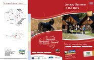 lungau summer in the hills brochure - Blasiwirt