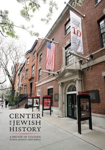 Download the annual report as a PDF - Center for Jewish History