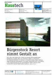 Medienstimmen herunterladen - Bürgenstock Resort