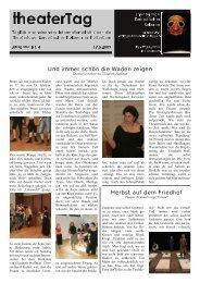 Ausgabe 4 - Theatertage Europäischer Kulturen