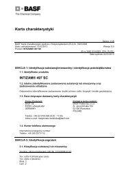 Intizam 497 SC - BASF Polska