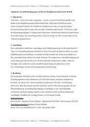 AGB als PDF - Heilpflanzenschule Karin Detloff