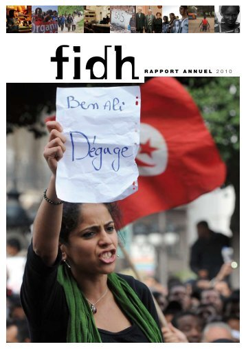 RAPPORT ANNUEL 2010 - FIDH