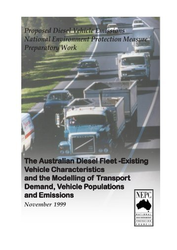 The Australian Diesel Fleet –Existing Vehicle Characteristics and ...
