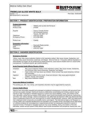 Tremclad Red Oxide Primer Rustoleum Com
