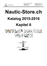 Nautic-Store.ch Bootszubehör Katalog Kapitel 6