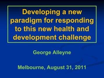 Sir George Alleyne