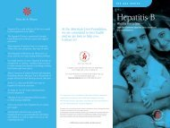 Hepatitis B Brochure - USF Health