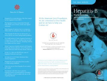 Hepatitis B Brochure - USF Health