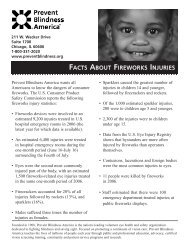 Facts About Fireworks Injuries 06/08