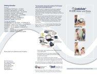 CardioSuite™ PC Based ECG Brochure - Nasiff