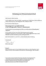 Einladung zum Ortsvereinsstammtisch - SPD Ortsverein München-Au