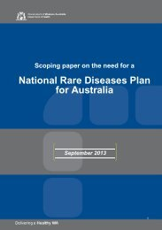 Scoping paper on the need for a National Rare Diseases Plan for ...