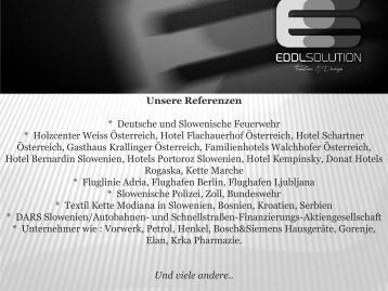Eddl Solution Fashion&Design Referenzen