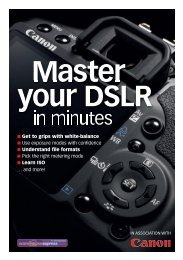 Master your DSLR - Photography Monthly