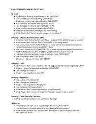 FAQ - INTERNET BANKING OCBC NISP General • What Internet ...