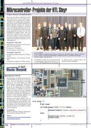 Mikrocontroller-Projekte der HTL Steyr - PCNews
