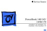 K PowerBook 140/145/ 145B/170 - Apple Collection