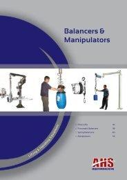 Balancers & Manipulators - Absolute Handling Systems
