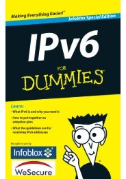IPv6 For Dummies, Infoblox Special Edition - Exclusive Networks