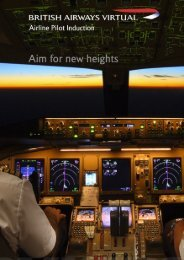 New Pilot Introduction Booklet - British Airways Virtual