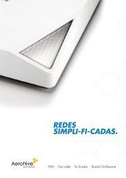 REDES SIMPLI-FI-CADAS. - Aerohive Networks