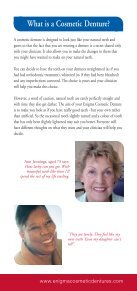 Enigma Cosmetic Denture Patient Literature - Page 3