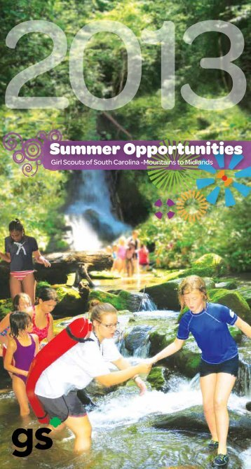 2013 Summer Camp Opportunities - Girl Scouts of South Carolina ...