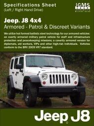 J8 Spec Sheet - Armoured.pdf - Jeep J8