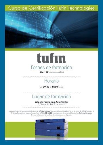 Curso de Certificación Tufin Technologies - Exclusive Networks