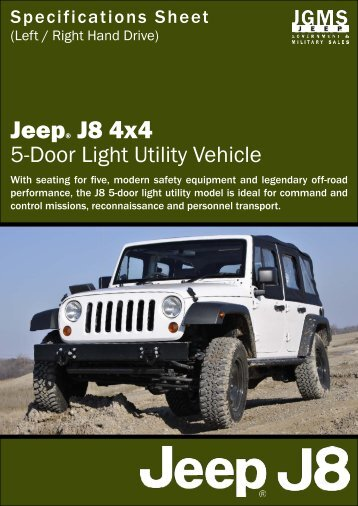 Jeep® J8 4x4 - Jeep J8
