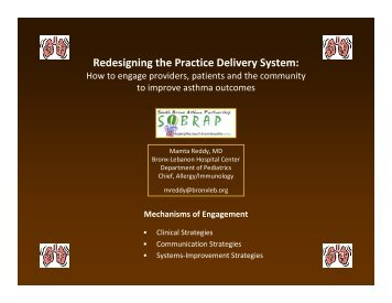 Redesigning the Practice Delivery System: