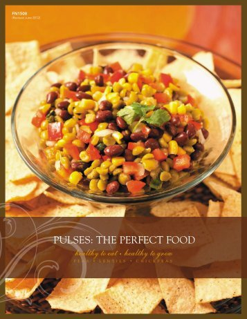 Pulses: The Perfect Food - NDSU Agriculture - North Dakota State ...