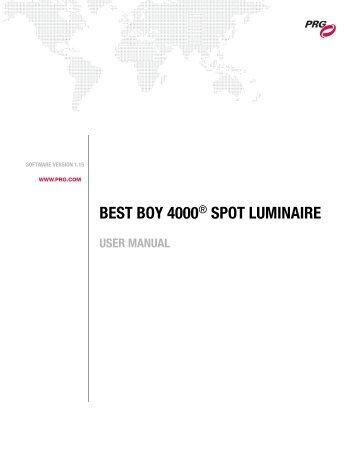 BEST BOY 4000 - PRG