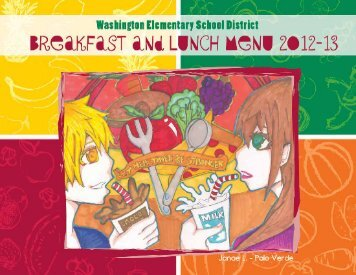 Lunch Menu - Washington Elementary School District 6