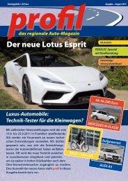 Der neue Lotus Esprit - Profil