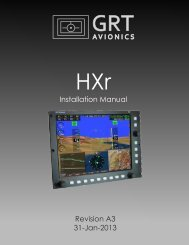 HXr Installation Manual, Rev A3 - Grand Rapids Technologies