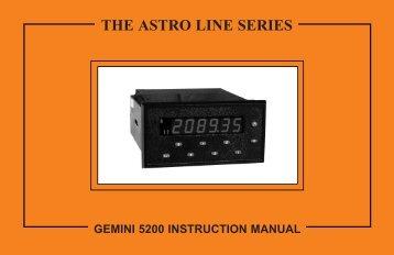 GEMINI 52 Manual 1379KB - Red Lion Controls