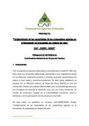 TDR - Cooperativas Agrarias Federadas