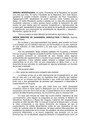 Acceda aquí al discurso completo del Ministro Aguerre durante el ...