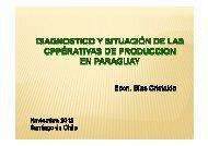 Presentación caso Paraguay - Cooperativas Agrarias Federadas