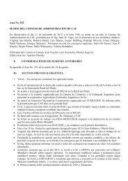 Acta No 552 - Cooperativas Agrarias Federadas