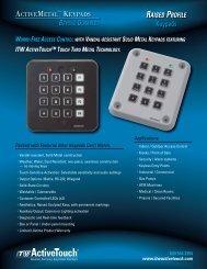 Keypads - Elimec
