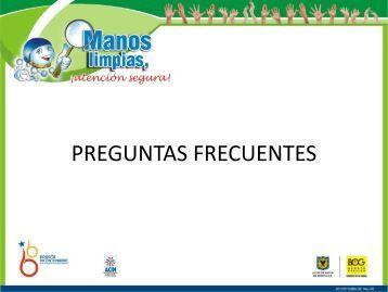 Preguntas Frecuentes.pdf - Secretaría Distrital de Salud