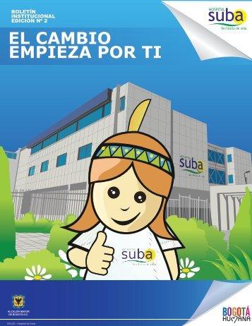 Descargar Boletín Institucional No 2 del 2013 - Hospital Suba