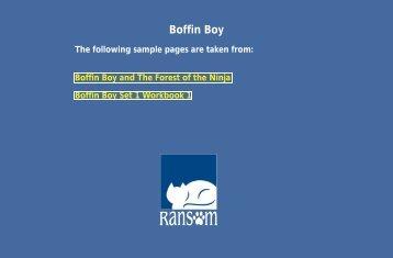 Boffin Boy - Ransom Publishing