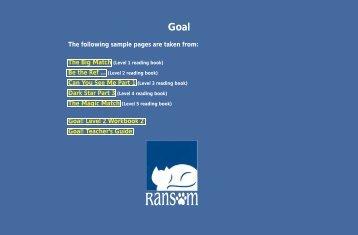 Goal! - Ransom Publishing